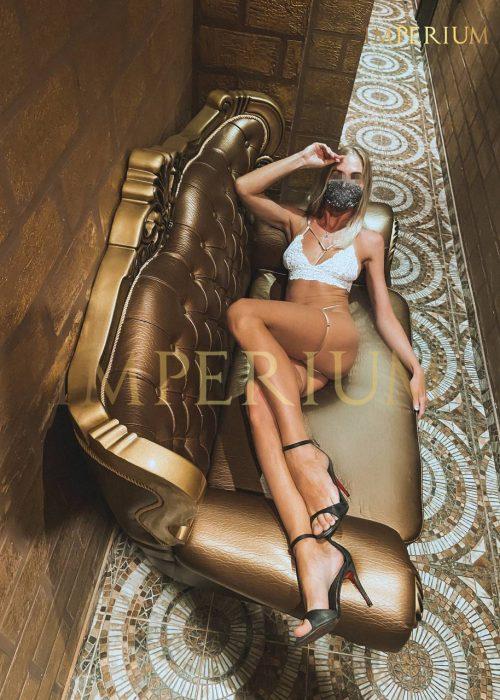 Kristina master in the erotic salon Imperium