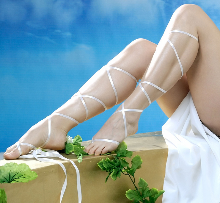 Legs of a goddess - the program of erotic massage